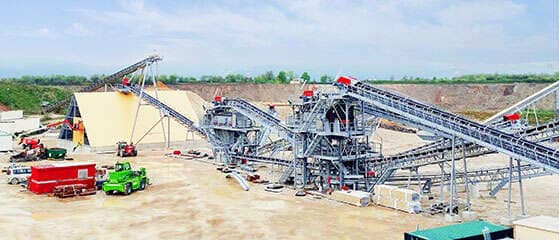450t/h Construction Aggregates Production Line in France