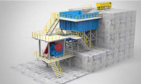 MJ Series Jaw Crusher Modular Crushing Plant