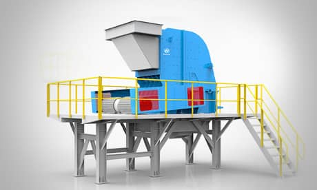 MF Series Impact Crusher Modular Crushing Plant