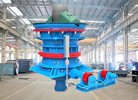 GC Series Gyratory Crusher