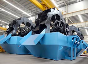 DXS Bucket-wheel Type Sand Washer