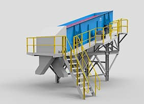 Modularized Screening Plant