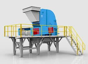 Modularized Impact  Crushing Plant