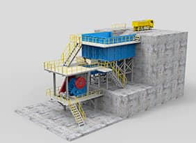 Modularized Jaw Crushing Plant