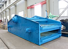 Self Centering Vibrating Screen