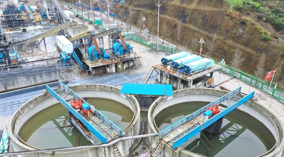 570 t/h Limestone Crushing and Grinding Production Line at Szechwan Province, China