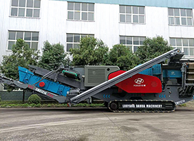 CMC Track-Mounted Mobile Impact Crushing Plant