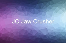 JC jaw crusher video
