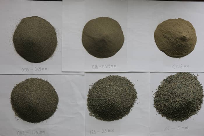 gravel particle size