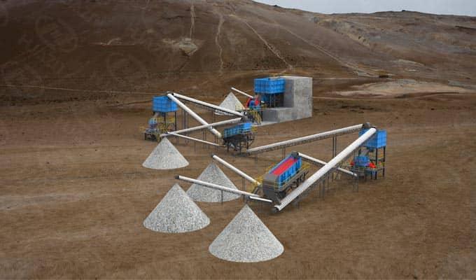 mineral process