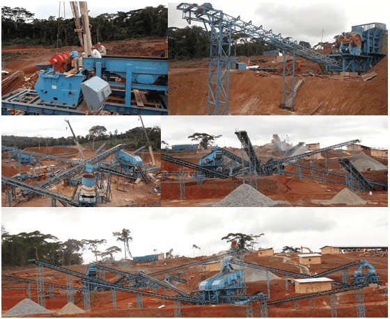 aggregates production