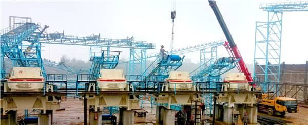mining crusher production line