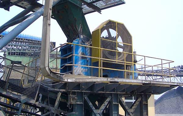 steel slag crusher