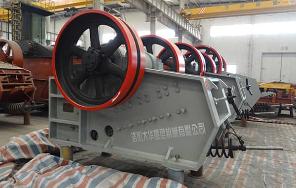 steel slag jaw crusher