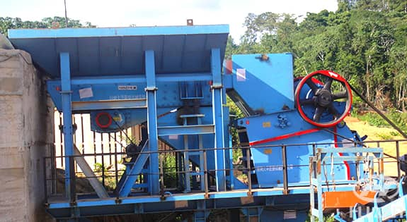 ASJ-E jaw crusher application 2