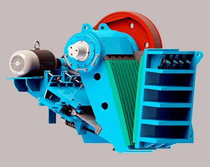 jc jaw crusher structure