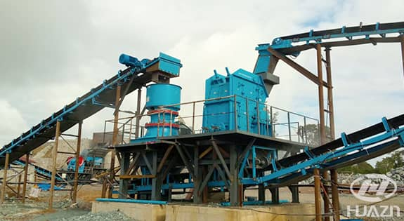 GPY cone crusher application 1