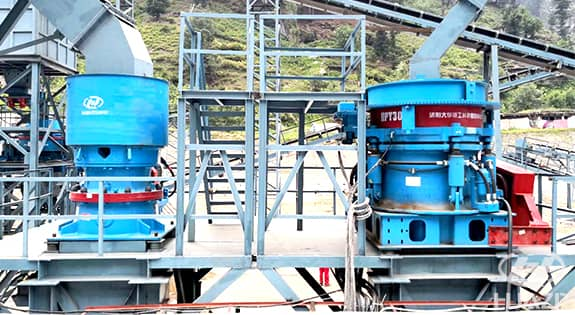 GPY cone crusher application 2