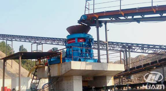 HPY cone crusher application1