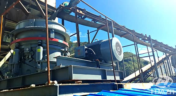 HPY cone crusher application 2