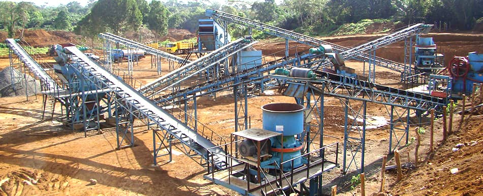 aggregates production in Cameroon