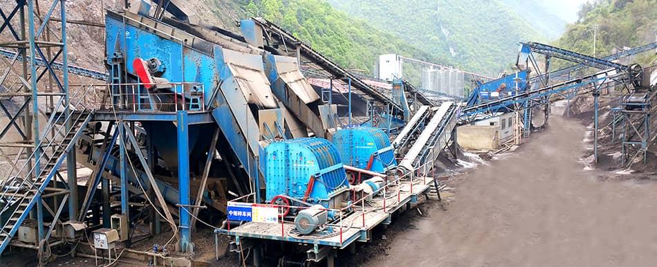 limestong production in Chongqing