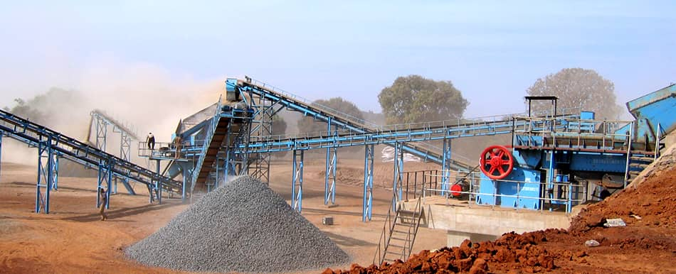 basalt aggregates production in Ethiopia