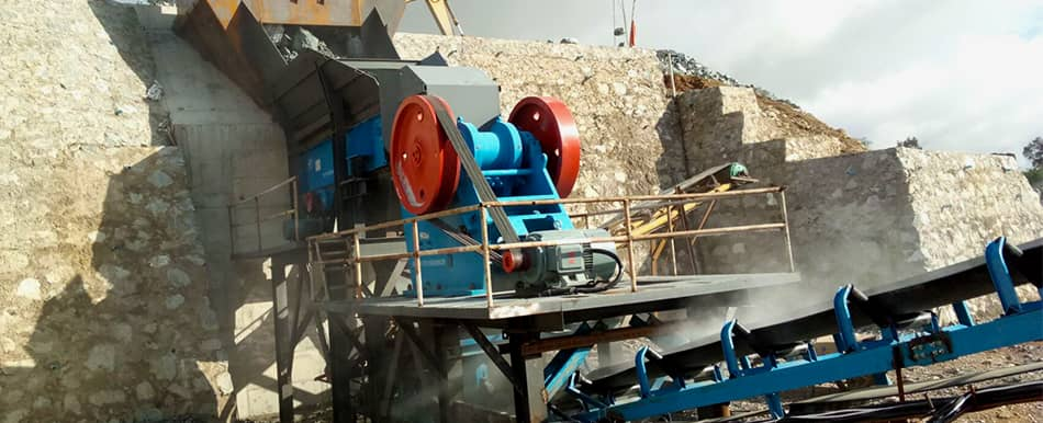 granite crushing for hydropower  in Loas