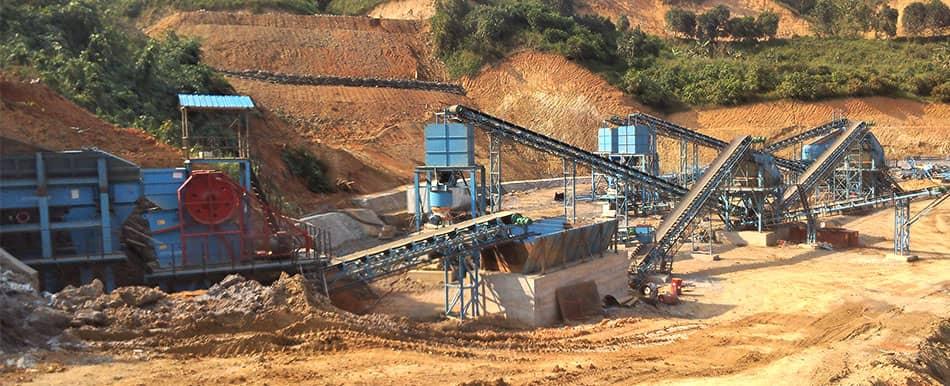 granite production in Laos