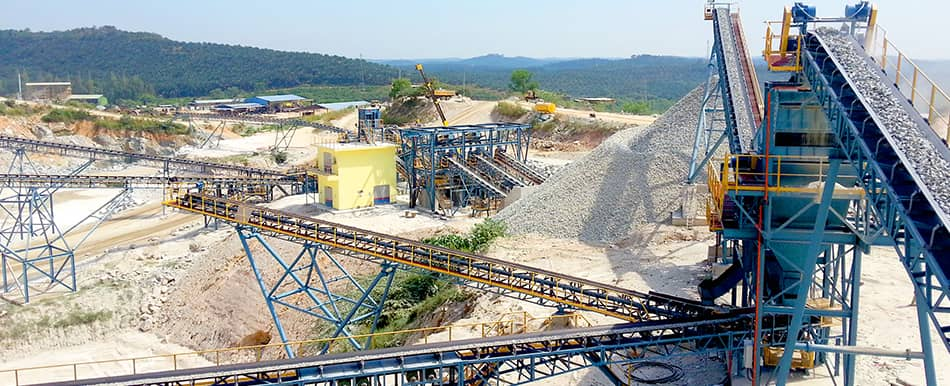 granite production in Malaysia
