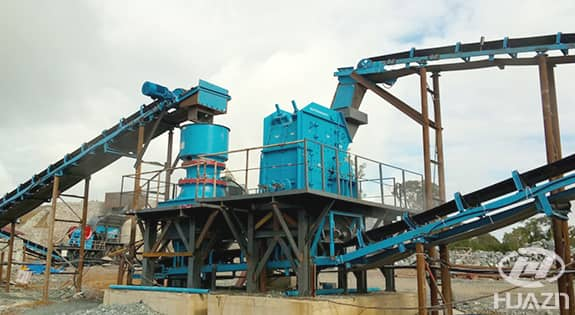 ISP impact crusher application 1