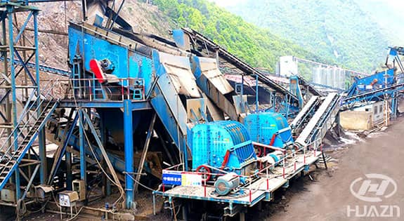 ISP impact crusher application 2