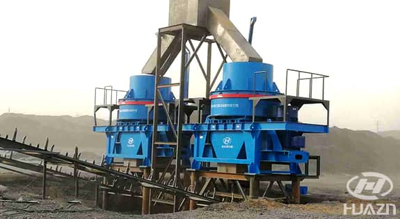 PLS vertical impact crusher application 2