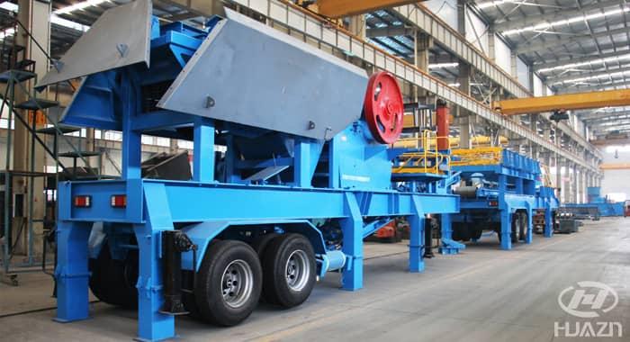 mobile crushing plant 2