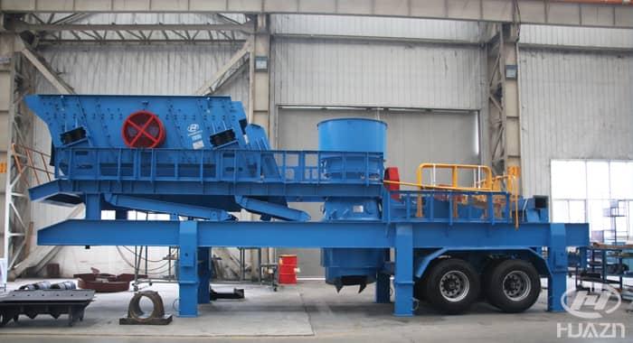 mobile crushing plant 3