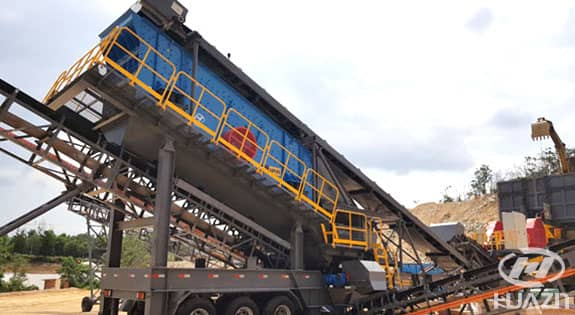 mobile crushing plant application 1