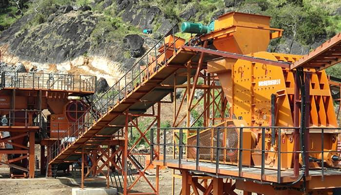 Fiji large scale crushing equipment