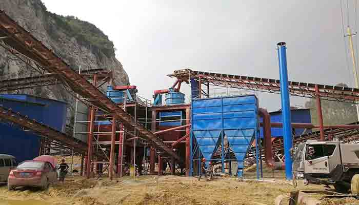 dahua stone crusher production line