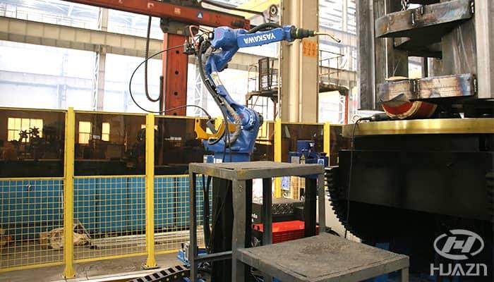 welding machine for dahua crusher