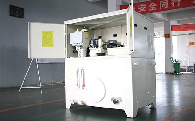 crusher hydraulic system