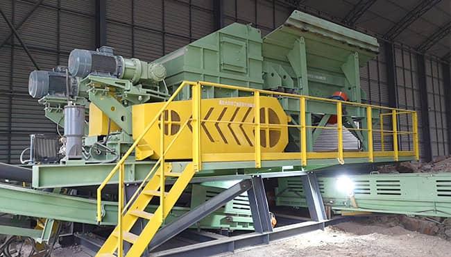construction waste treatment production line