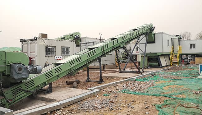 construction waste treatment crusher