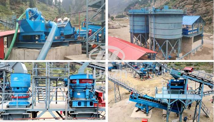 sand and stone production line
