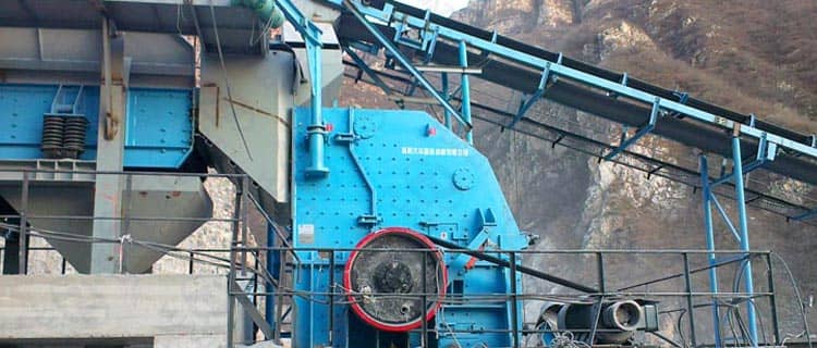 pfy hard rock impact crusher