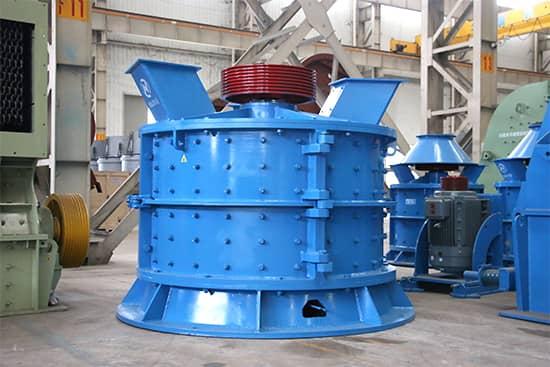 vertical complex crusher