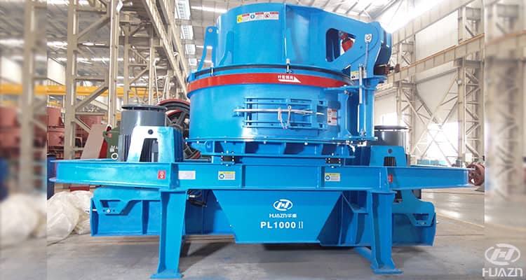 vertical impact crusher_sand making machine