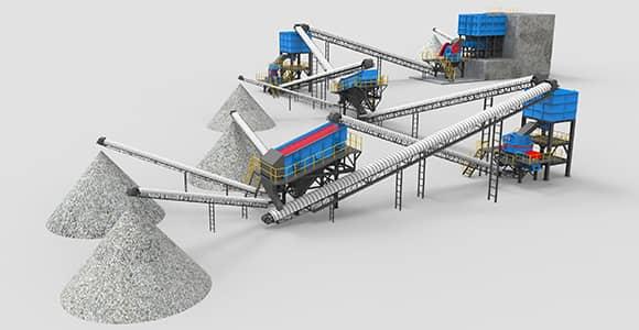 crushing production line