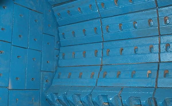 impact crusher impact plate