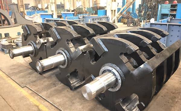 impact plate rotor