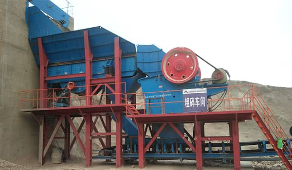jaw crusher stone production line